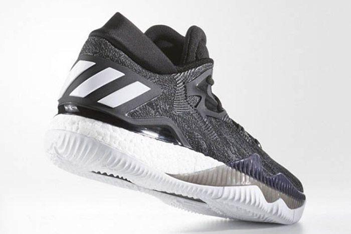 Adidas Crazylight Boost 2016 Black White 3