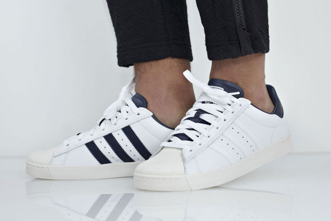 Adidas Superstar Vulc Adv White 2