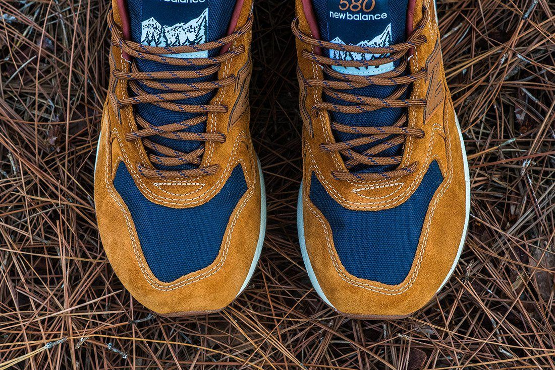 New Balance 580 Brown Leather 4