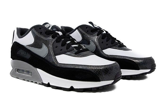 Nike Air Max 90 Qs Python Cd0916 100 Front Angle
