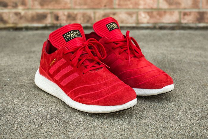 Adidas Busenitz Pure Boost Red