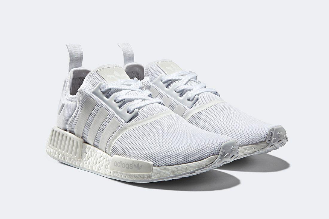 Adidas Nmd R1 Triple White 2