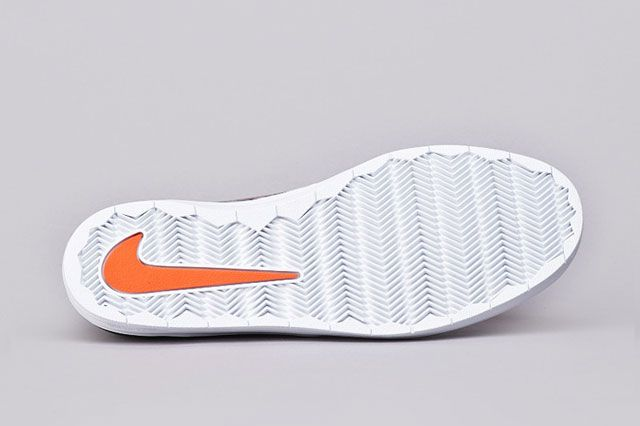 Nike Sb Lunar Oneshot Blk Org Sole