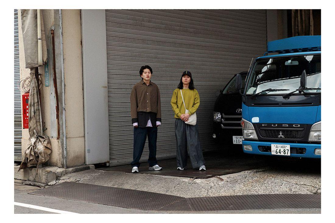 New Balance 990V5 Biancissimo Afew Japan Editorial 12 Blue Van