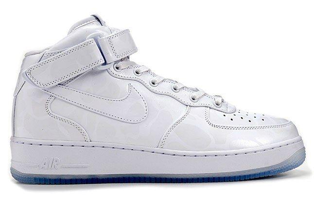 Nike Air Force 1 Mid Comfort Premium White 1