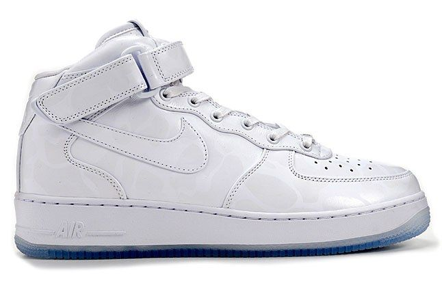 Nike Air Force 1 Mid Comfort Premium White 1