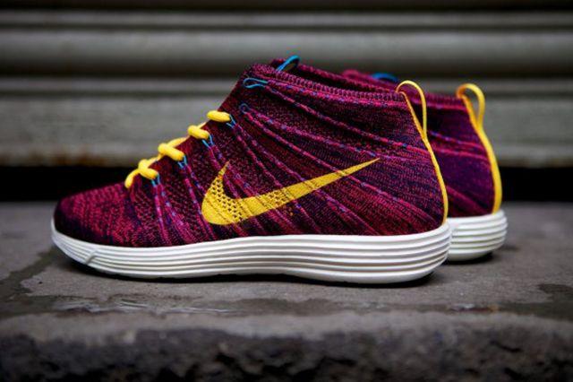 Nike Lunar Flyknit Chukka Grand Purple 11