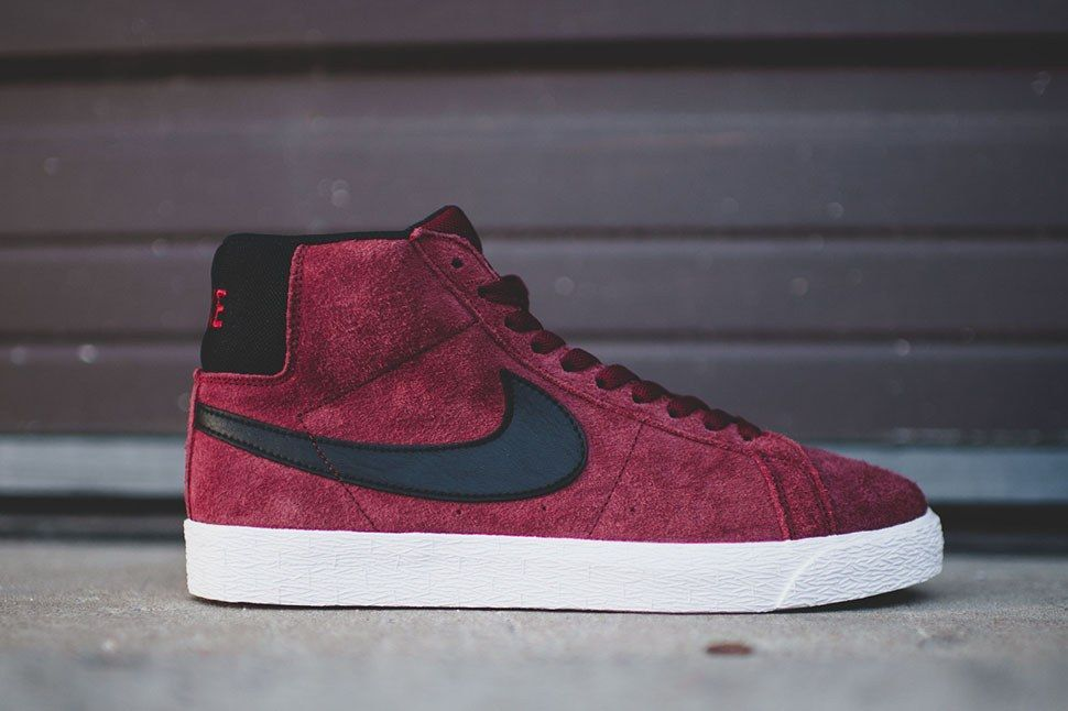 Nike Sb Blazer Se Premium Team Red 6
