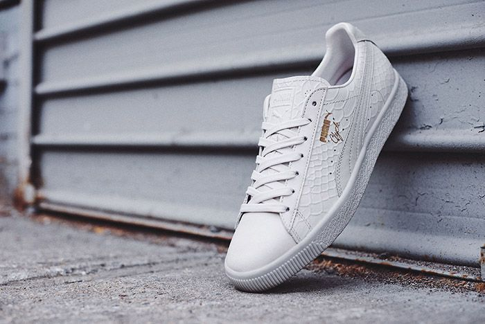 Puma Clyde Dressed Pack White 1