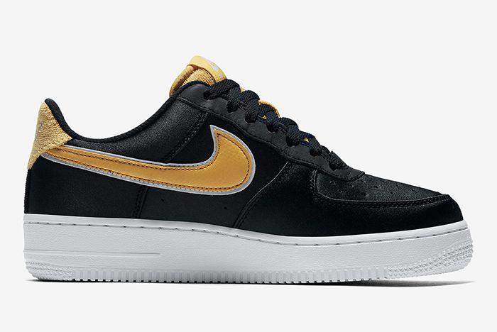 Nike Air Force 1 Low Satin Aa0287 005 5 Sneaker Freaker