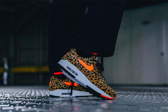 Atmos Nike Air Max 1 Animal 3 0 Pack Cheetah Lateral Side Shot