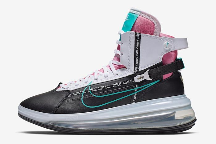 Nike Air Max 720 Saturn Miami Vice Ao2110 002 Side Shot 4