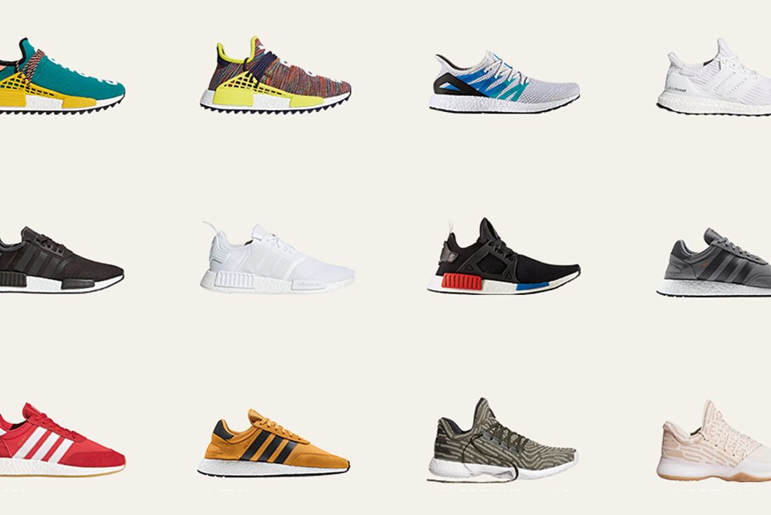 Adidas Sell Boost Collection 1