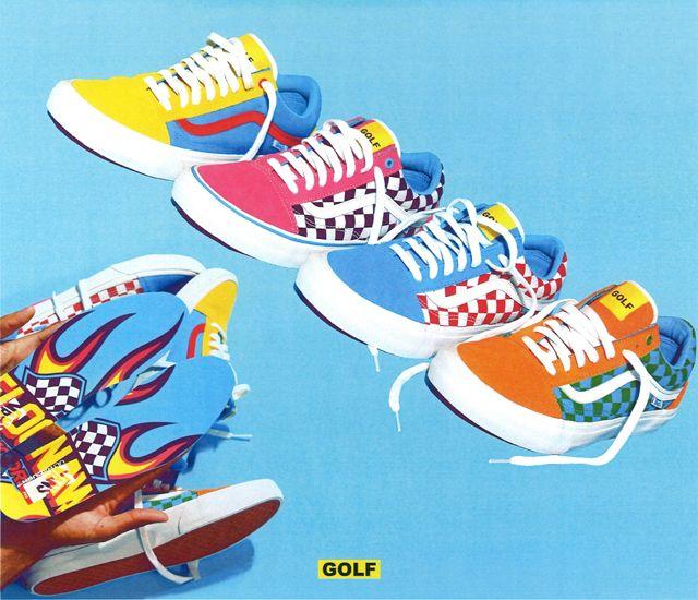 Golf Wang X Vans 2015 Old Skool Collection2