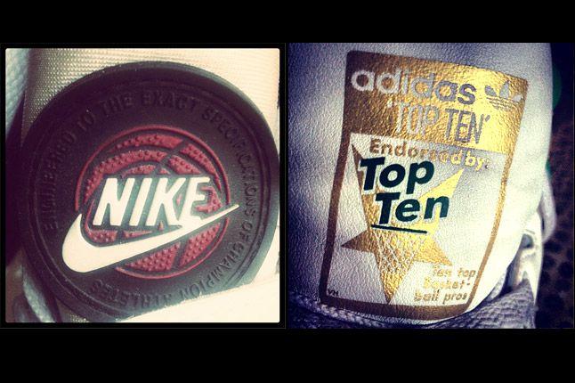Nike Basketball Adidas Top Ten Logo 1