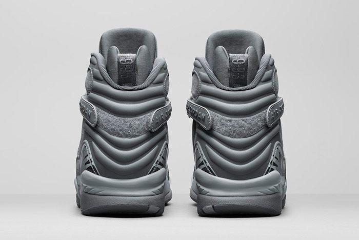 Air Jordan 8 Cool Grey 4