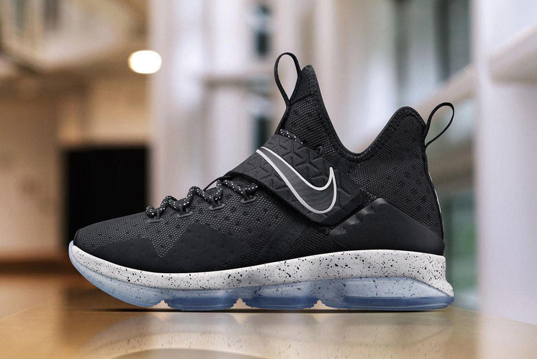 Nike Le Bron 14 Black Ice Oreo 1