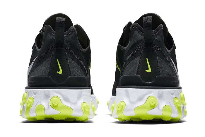 Nike React Element 55 Volt Solar Red 4