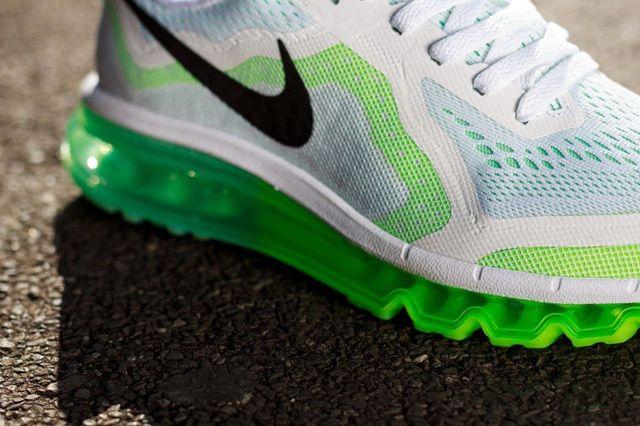 Nike Wmns Air Max 2014 White Green 5
