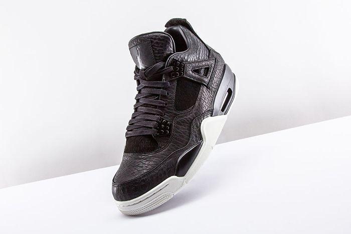 Air Jordan 4 Pinnacle Black 2