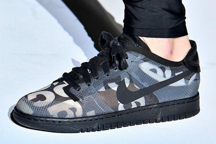 Comme Des Garcon Nike Dunk Low Left