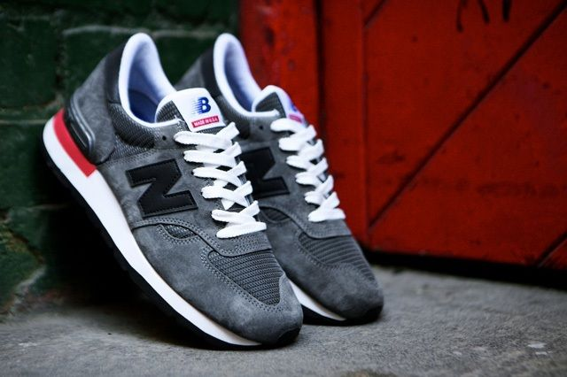 New Balance 990 Made In Usa Charcoal Grey 4