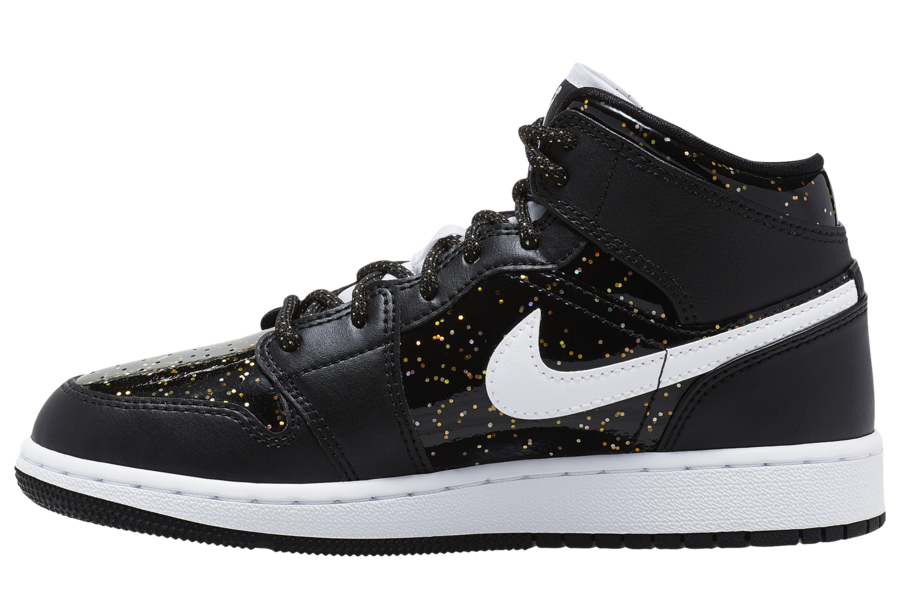 Air Jordan 1 Mid Speckle left