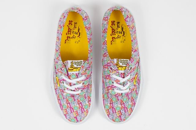 The Beatles Yellow Submarine By Vans Authentic All You Need Is Love Spring 2014
