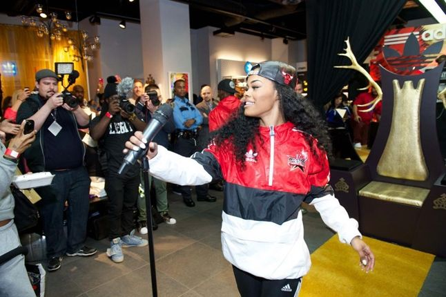 Teyana Taylor Glc Launch Performance 1