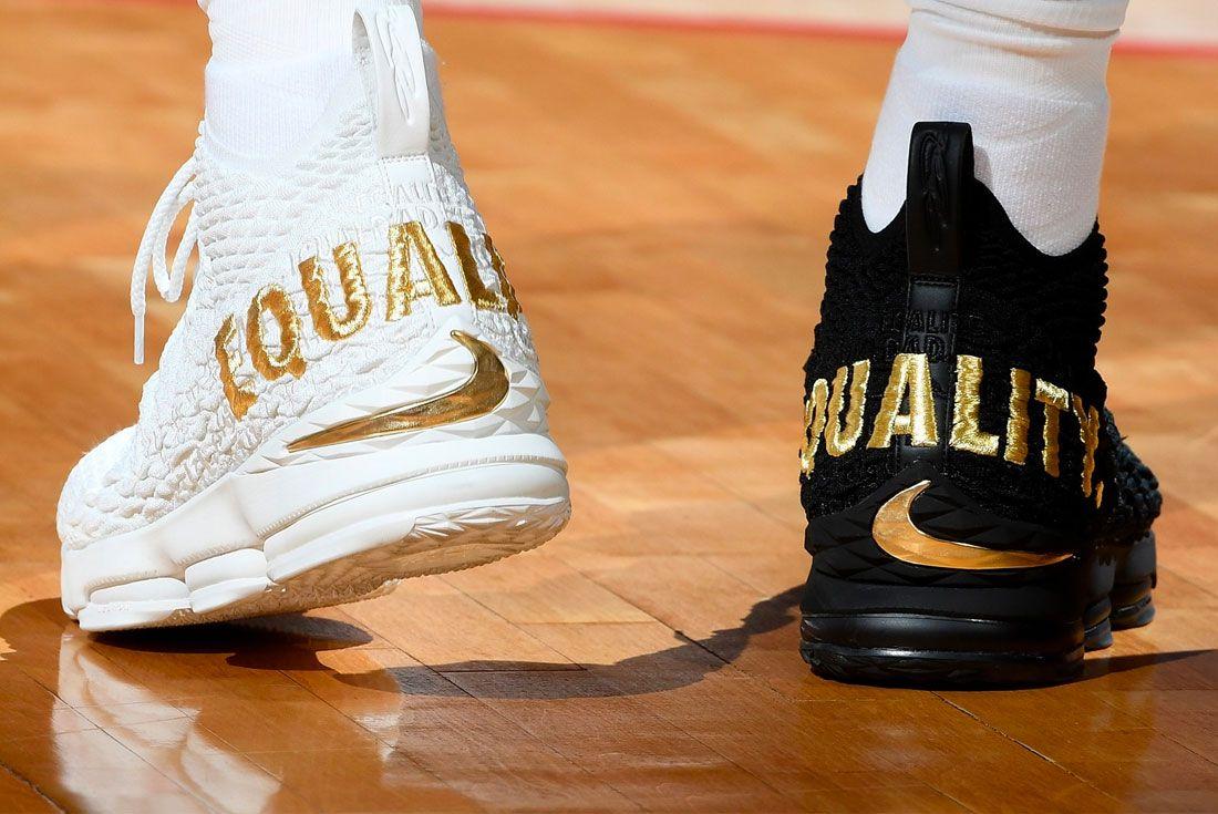 Nike Lebron 15 Equality Heel