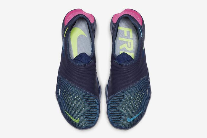 Nike Free Rn Flyknit 3 Midnight Navy Top
