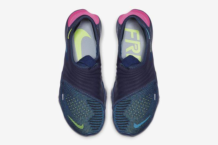 Nike Free Rn Flyknit 3 Midnight Navy Top