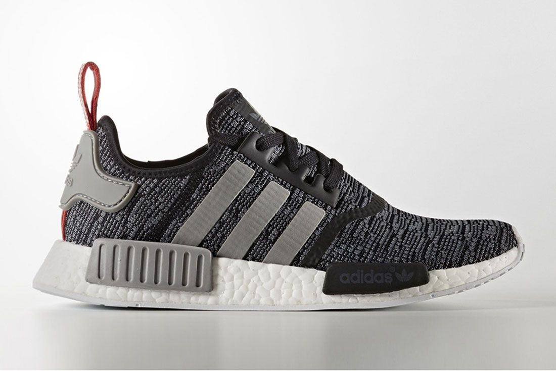 Adidas Nmd R1 Grey Glitch Pack