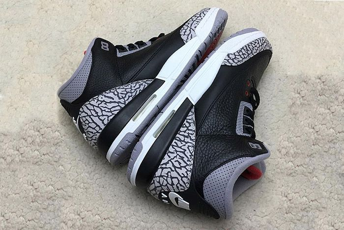 Air Jordan 3 Black Cement Retro 7