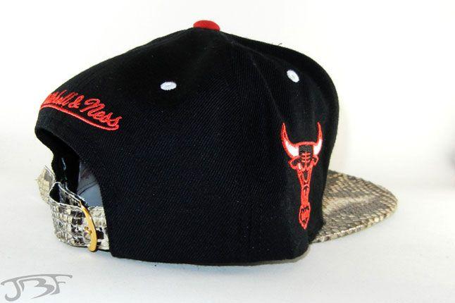Jbf Custom Cap Chicago Bulls 4 1
