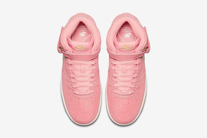 Nike Air Force 1 Mid Bright Melon 3