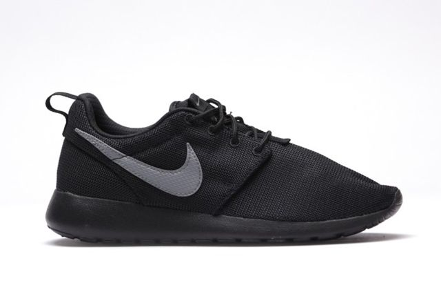 Nike Roshe Run Gs Cool Grey Black 5
