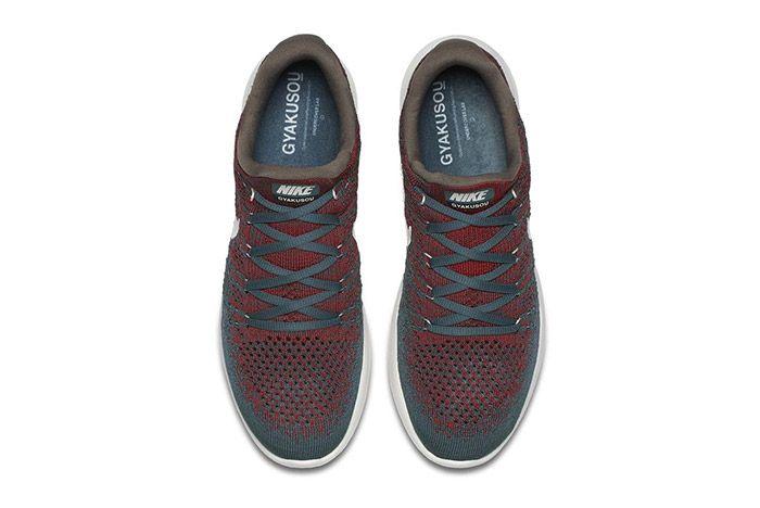 Nike Gyakusou Lunarepic Flyknit Low 2 Green Red 2