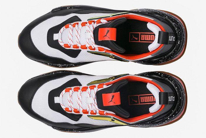 Puma Thunder Electric Black Orange 367996 01 5