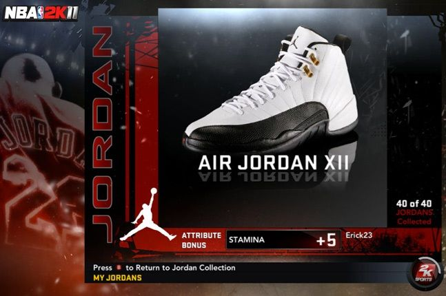 Jordan Nba 2K11 Xii 1