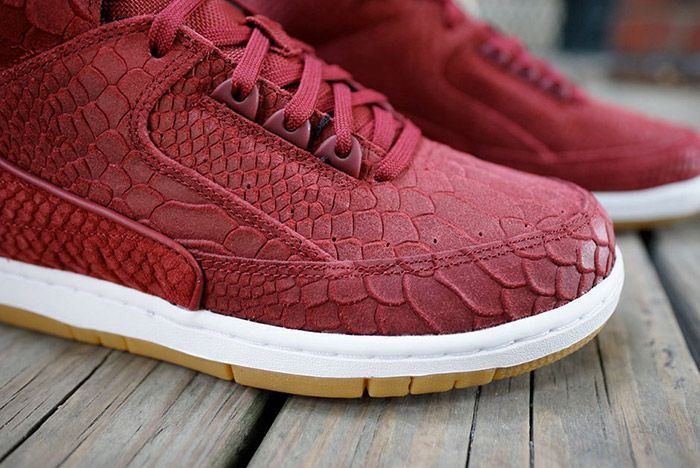 Nike Air Python Red Snakeskin 5