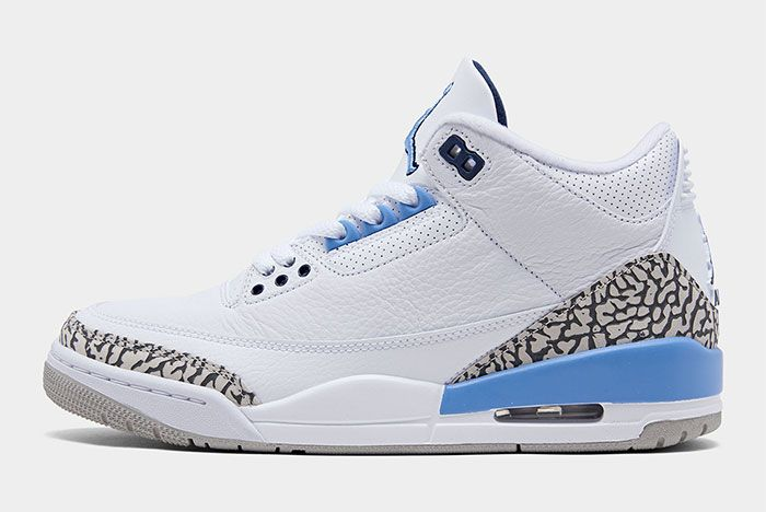 Air Jordan 3 Unc Left