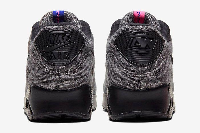Loopwheeler Nike Air Max 90 Cq7854 001 Release Date 5Official