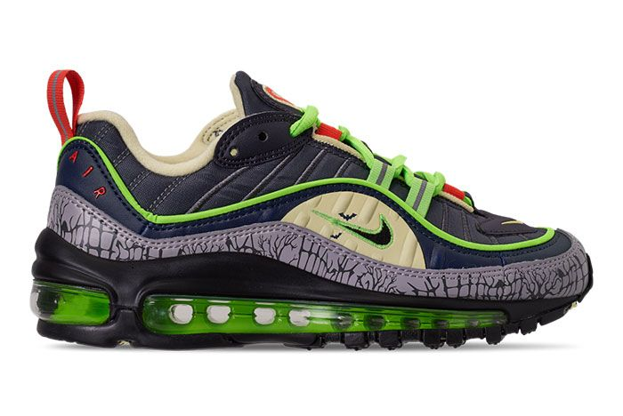 Nike Air Max 98 Halloween Ct1171 001 Lateral