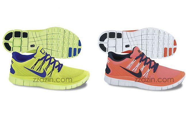 Nike Free Run 4 2013 Orange Volt 1