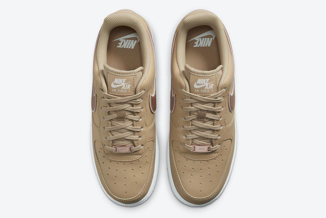 Nike Air Force 1 Hemp/Rose Gold