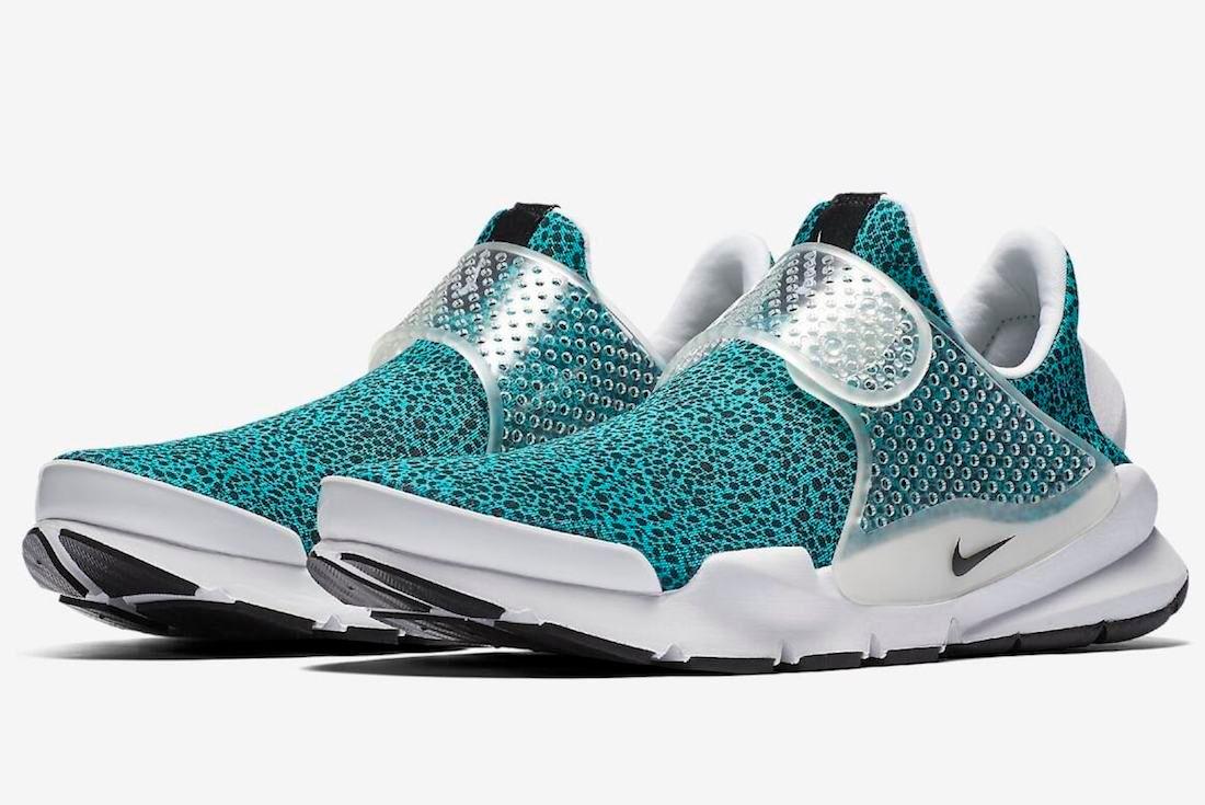 Nike Sock Dart Safari Turbo Green