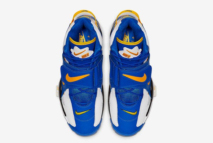 Nike Air Barrage Mid Warriors At7847 100 Top