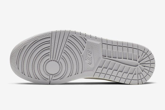 Air Jordan 1 Pale Ivory Outsole