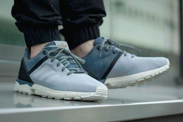 Adidas Zx Flux Blue 3